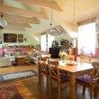 Obývací prostor mladé rodiny