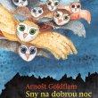 Titulní strana knihy pohádek Arnošta Goldflama Sny na dobrou noc