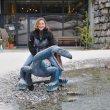 Samozřejmě nesmí chybět park s ještěry a ještěrkami.