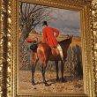Císař měl rád obyčejné lidi. Podle kresby i jeho kůň vstřícně otáčí hlavu k prostému sedláčkovi.