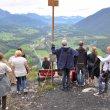 Výhled měla císařovna pěkný. Bad Ischl na dlani. Sice hluboko pod námi, ale přesto leží poměrně vysoko. V nadmořské výšce 468 m.