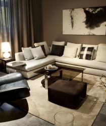 Showroom Stopka s italským designem Minotti, Armani Casa a dalších značek.